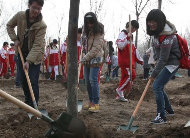 Beijing continues forestation efforts