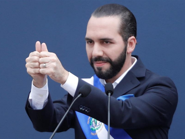 El Salvador's new president Bukele calls for unity