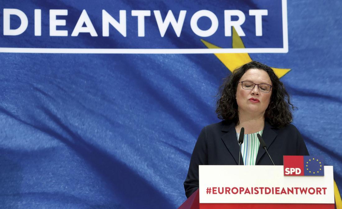 German SPD leader to resign after election setbacks