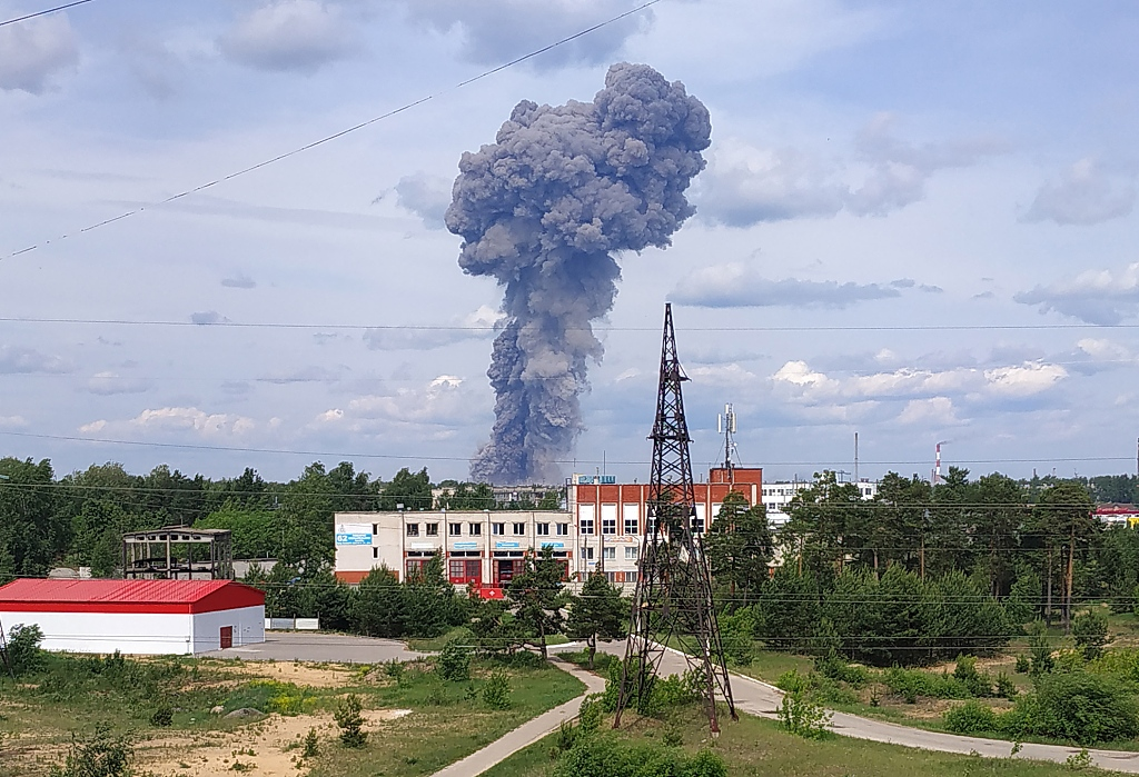 Number of injured in TNT plant blasts in Russia rises to 89: regional government
