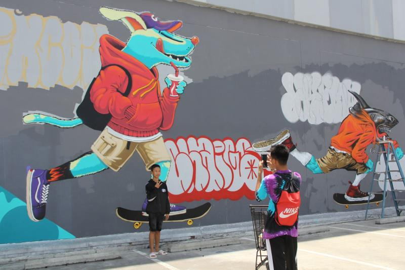 Style Walls graffiti tour opens in Chiang Mai