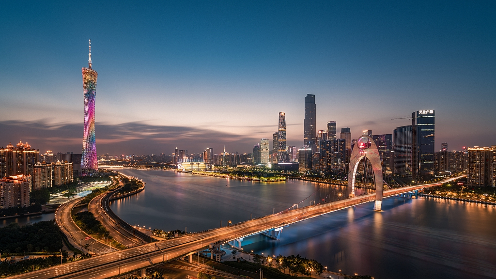 Guangdong's economic performance ranks first in China