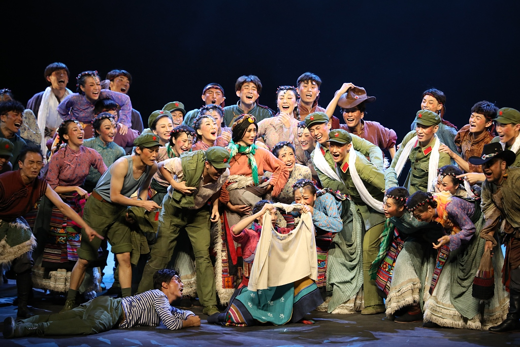 Dance drama 'The Railway to Tibet' to be restaged at China's prime theater