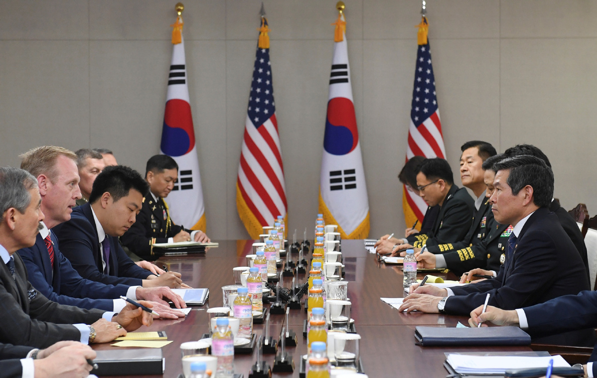 Defense chiefs of ROK, US hold talks over Korean Peninsula security situations