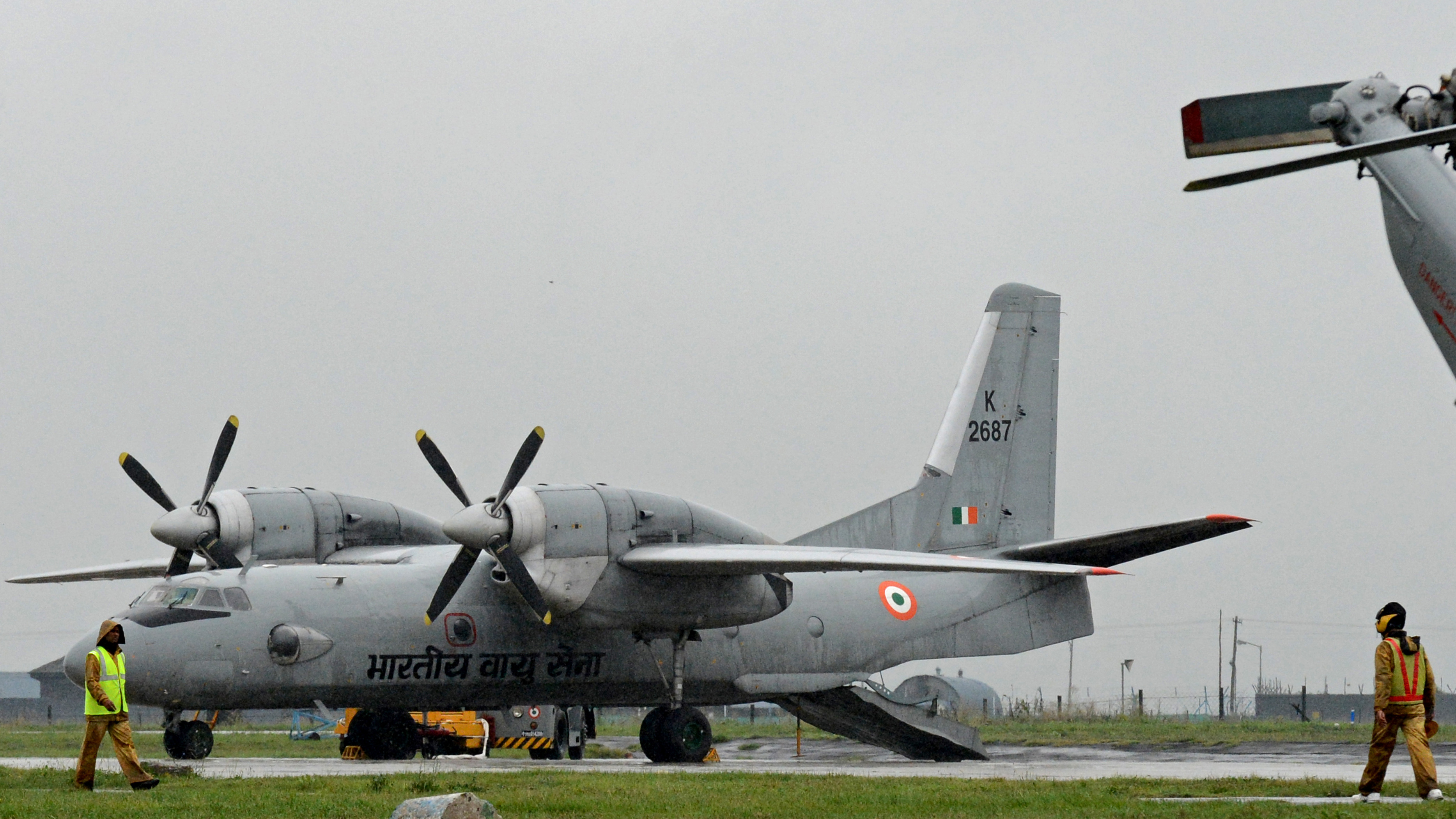 Indian Air Force plane goes missing, some 13 people aboard