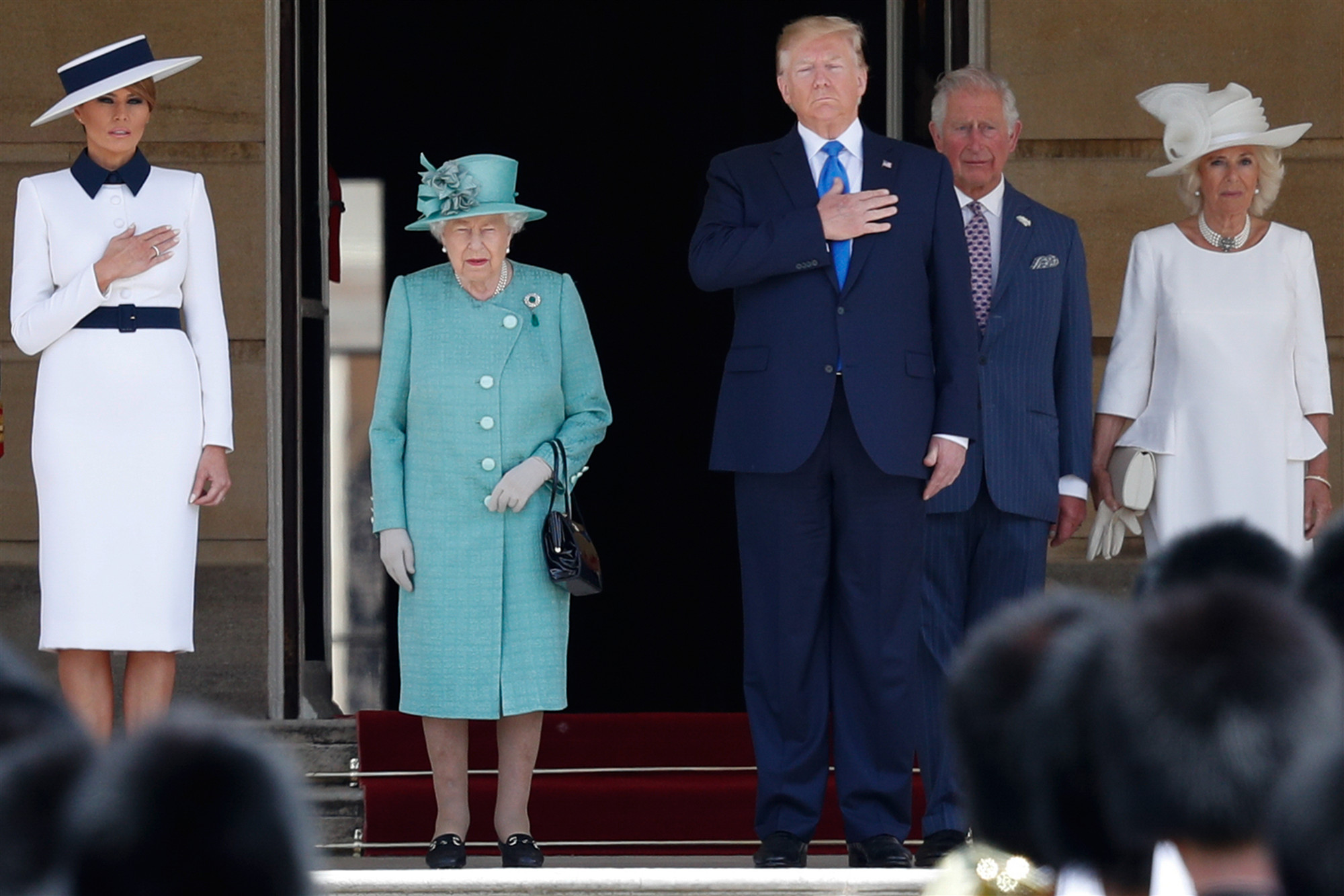 US president in UK for state visit as protests planned