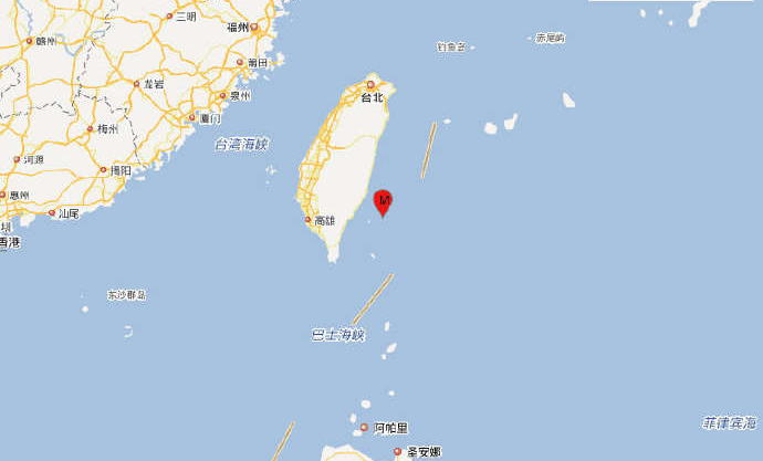 5.8-magnitude earthquake hits waters off Taiwan: CENC