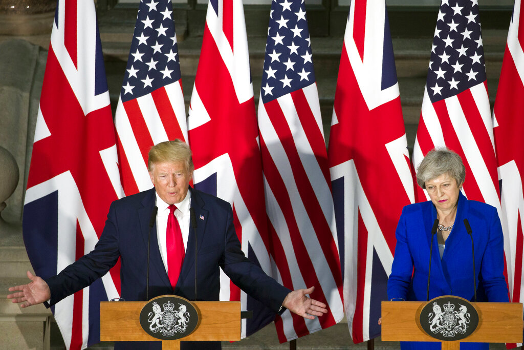 UK, US want ambitious trade deal after Brexit