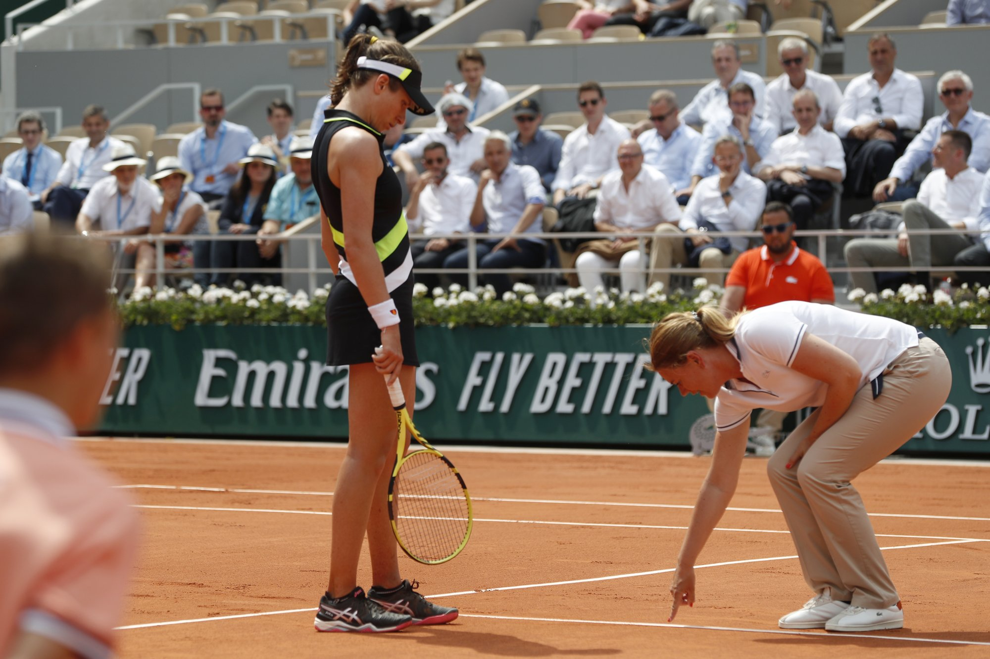 Choreography comes to clay: No replay review at French Open