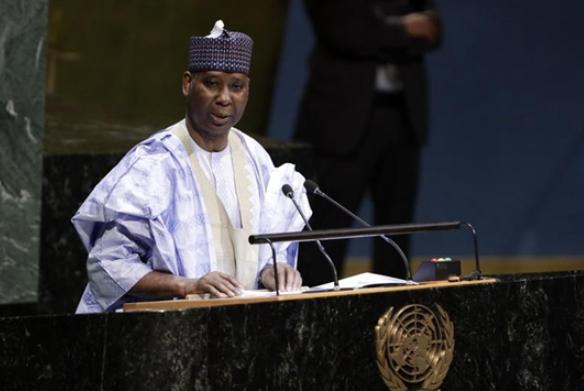 Nigerian UN ambassador elected UNGA president