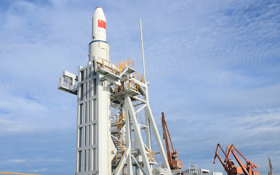 China to launch carrier rocket on Yellow Sea
