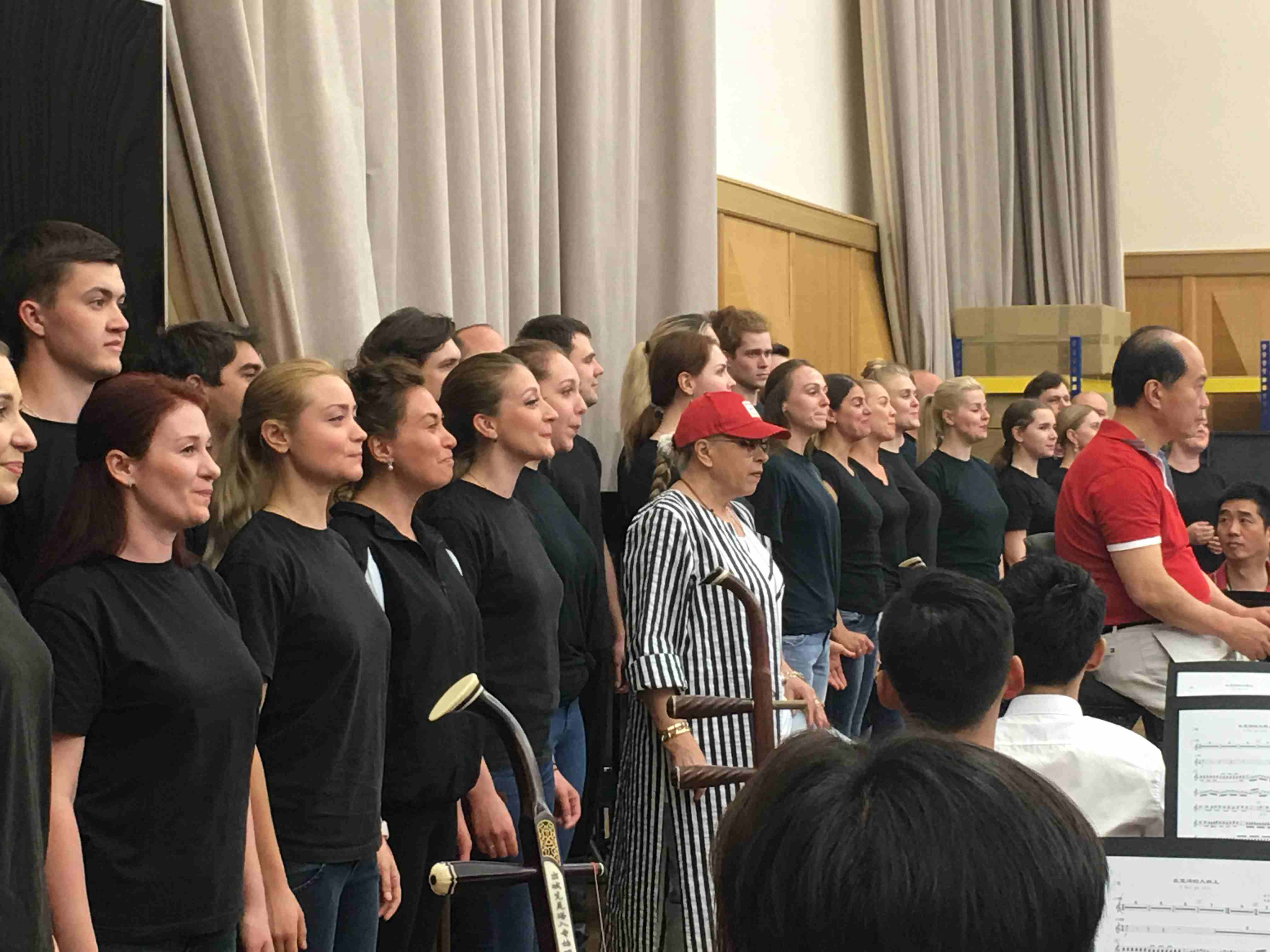 Artists prepare for performance celebrating 70th anniversary of China-Russia diplomatic relations