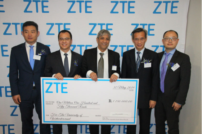 ZTE helps South Africa cultivate telecommunication talents