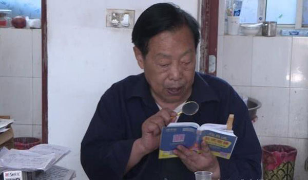 Retired mechanic, 85, prepares for college exams