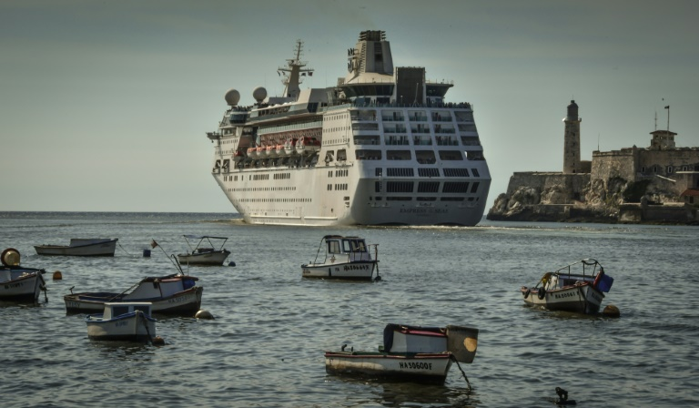 Last cruise ship leaves Cuba as fresh US sanctions bite