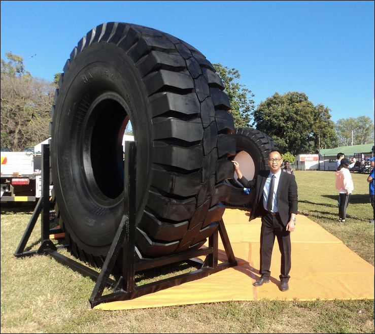 Chinese tyre manufacturer sets up base in Zambia