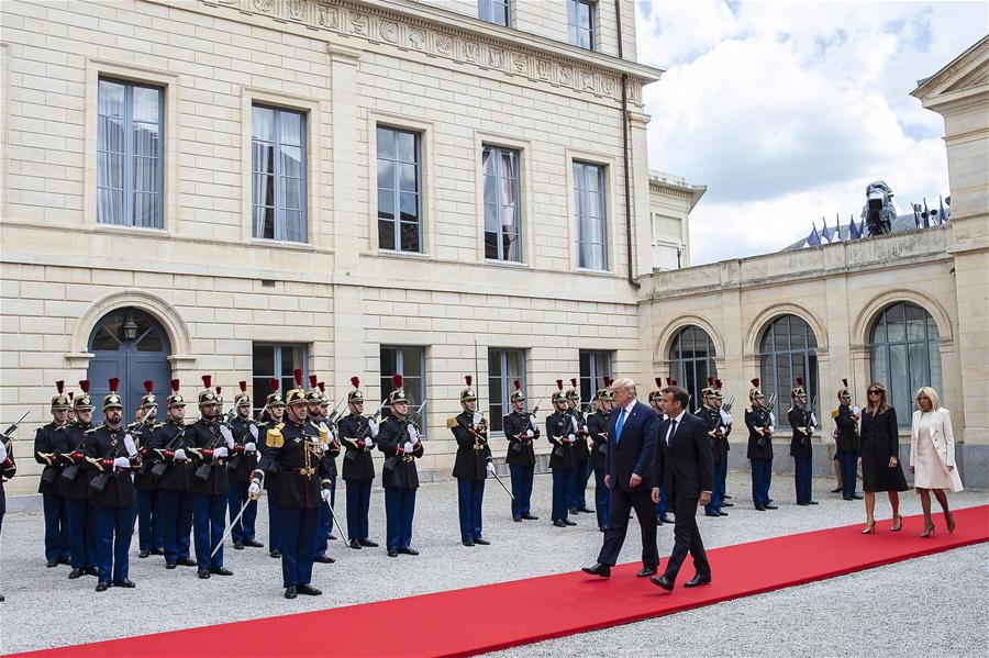 Macron, Western leaders mark 75th anniversary of D-Day