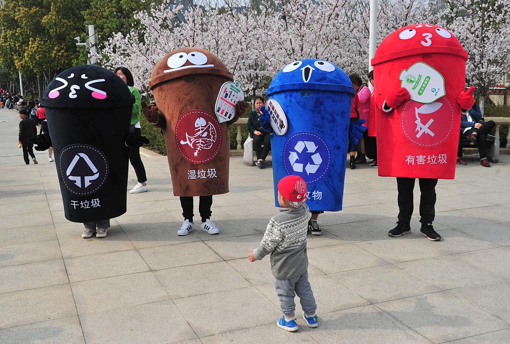 China wastes no time in garbage sorting