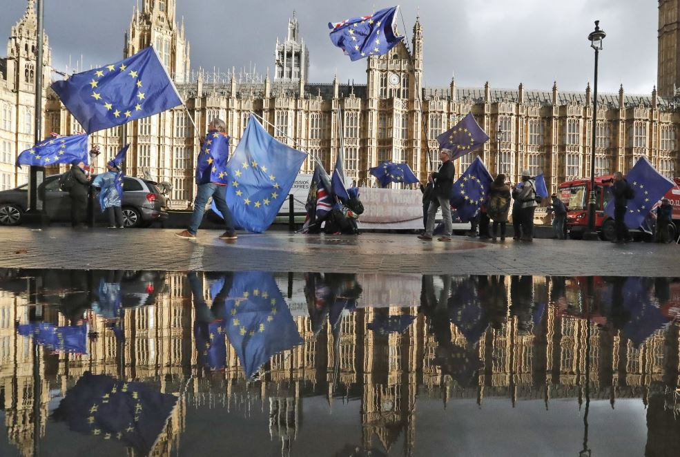 UK government spends 97 million pounds on Brexit consultancy
