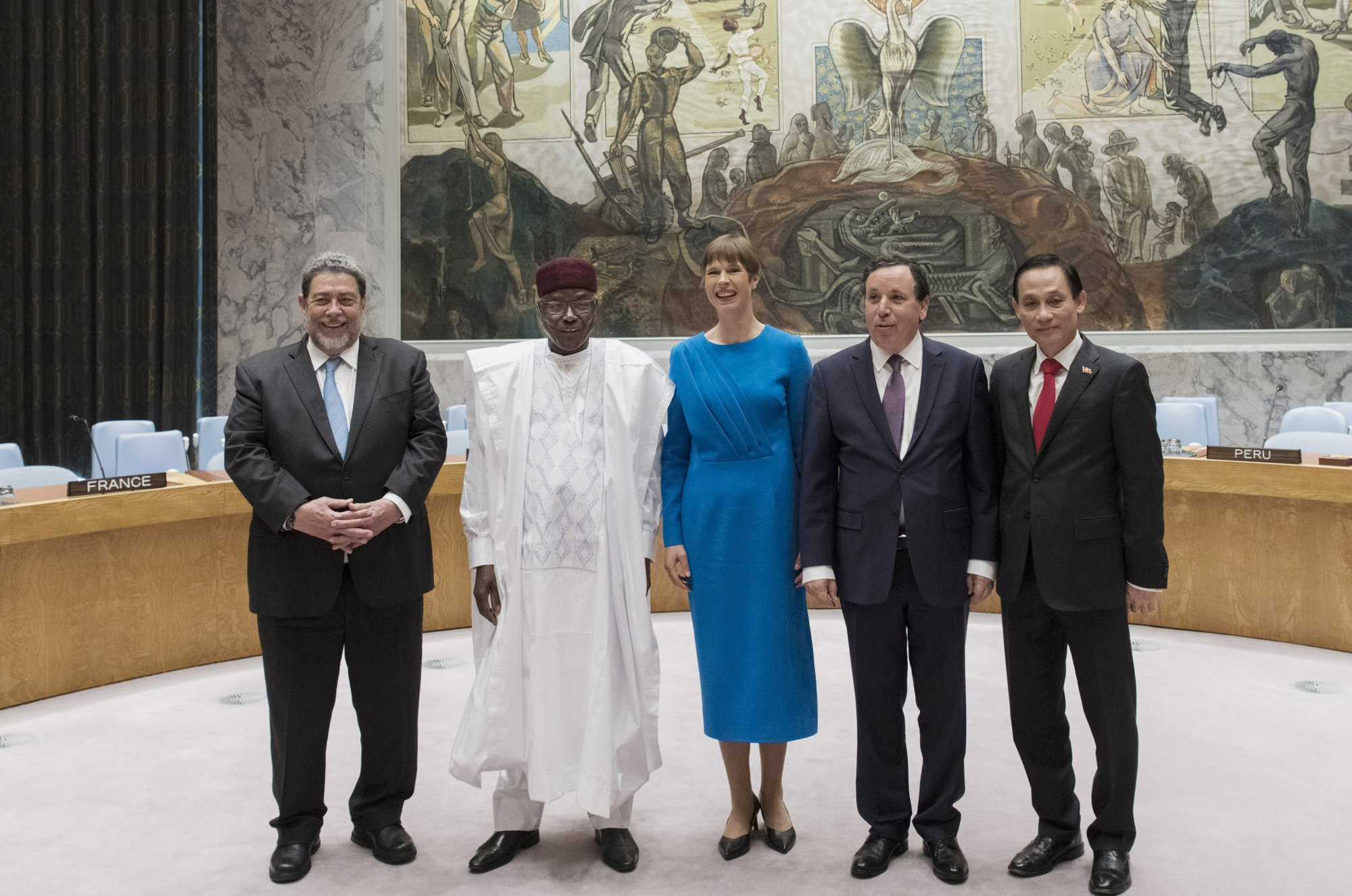 2 first-timers among 5 nations elected to Security Council