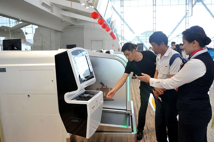China Eastern looking to set up remote check-in, bag services