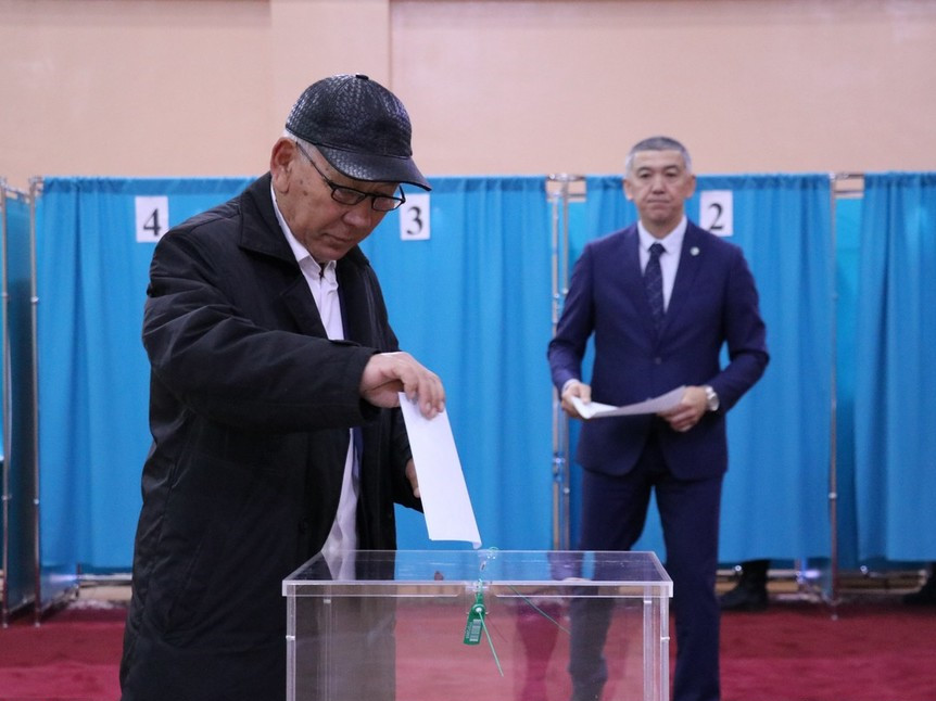 Kazakhstan's presidential election kicks off