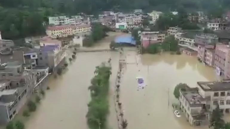 58,000 residents affected as downpour lashes southwest China