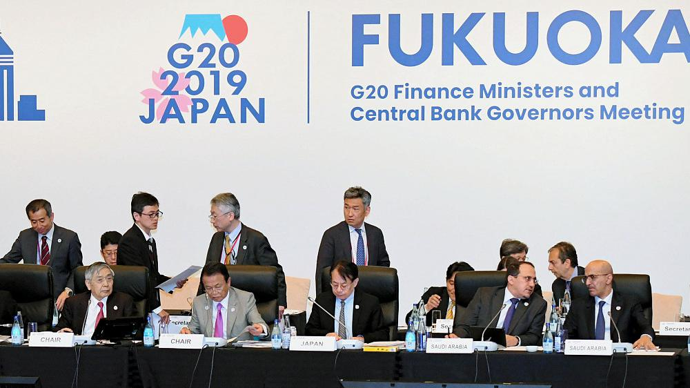 G20 finance chiefs: Intensified trade tensions pose threat to global economy