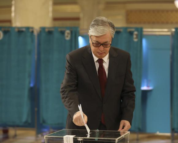 Tokayev wins Kazakhstan's presidential election, exit polls say