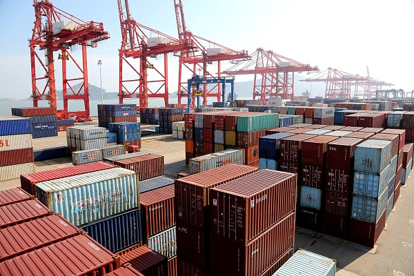 China's foreign trade up 4.1 pct in first five months