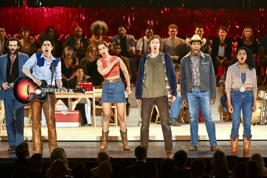 'Oklahoma!' wins best musical revival Tony Award