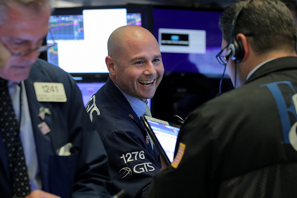 US stocks open higher after US-Mexico agreement