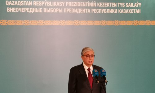 Tokayev elected new Kazakh President; smooth transition sets a good example for region