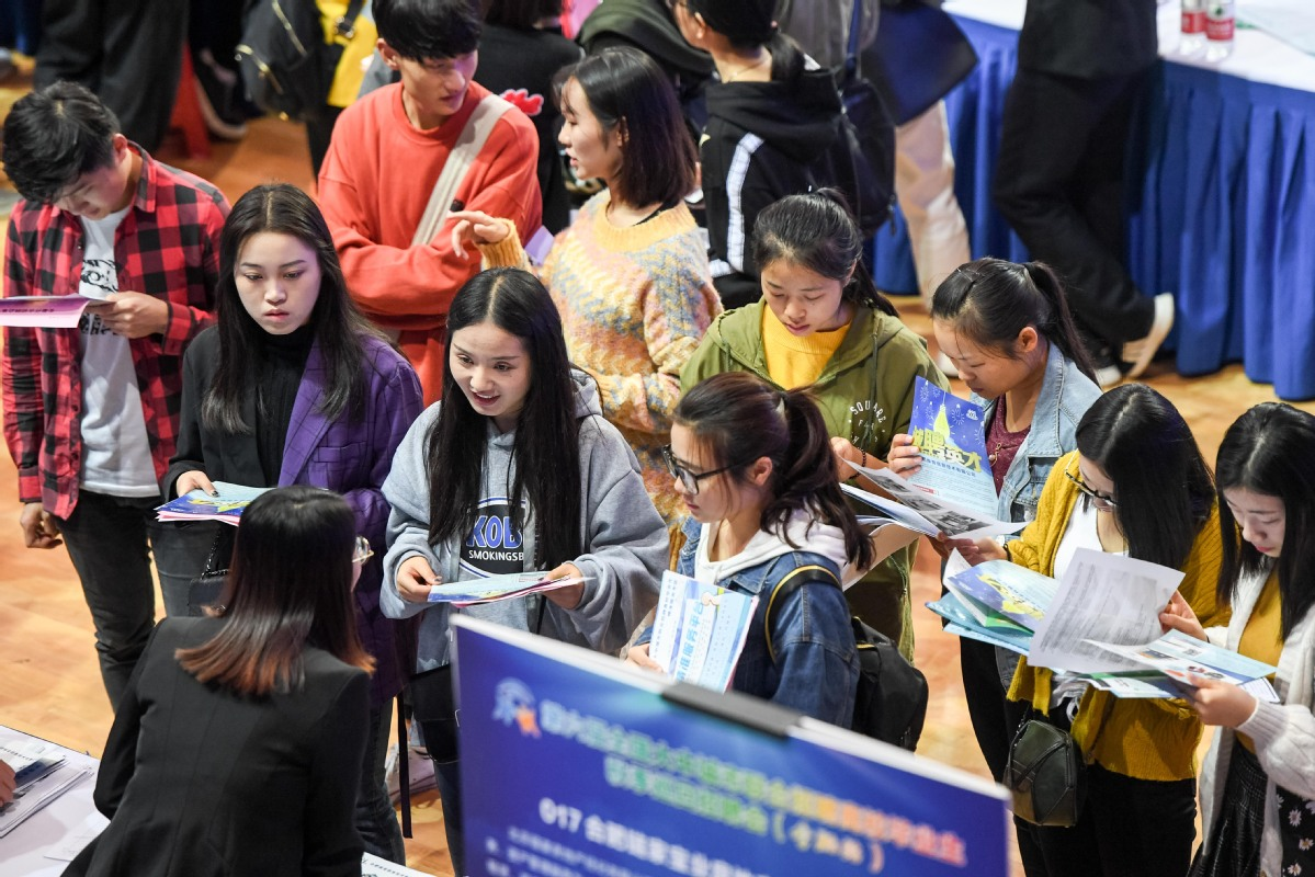 Graduates shun first-tier cities for easier lifestyle