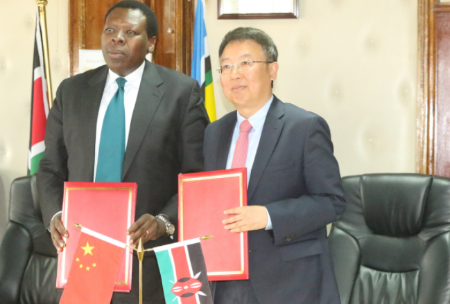 Kenya lauds China's food aid for communities in arid areas