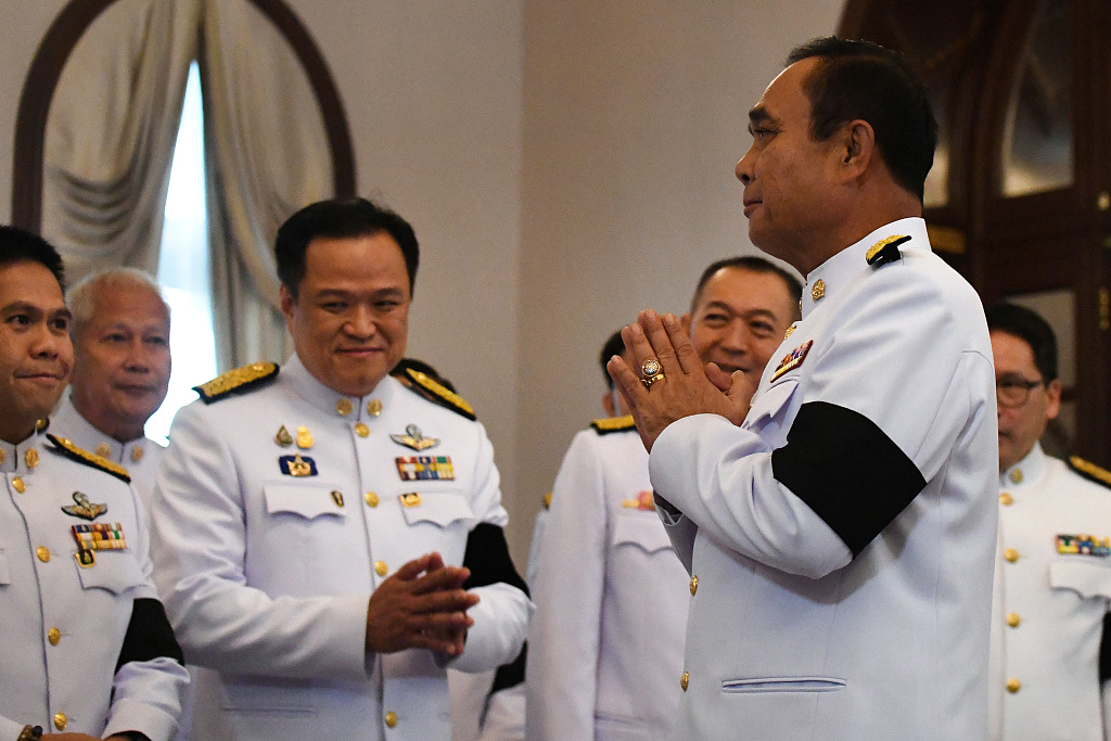 Thai king appoints Prayut Chan-o-cha as prime minister