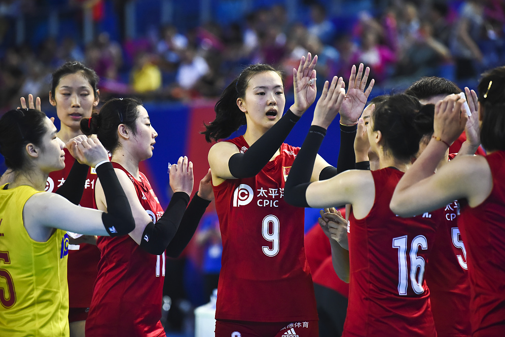 China trounce Poland 3-0 in women's volleyball nations league