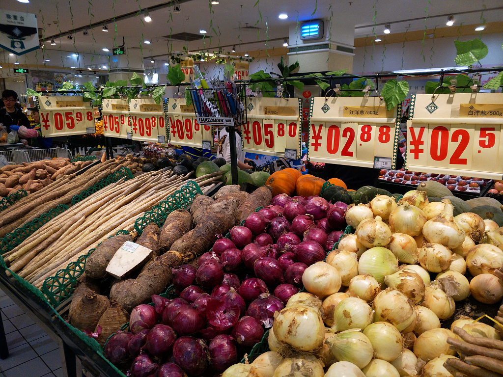 China's CPI further expands to 2.7 pct in May