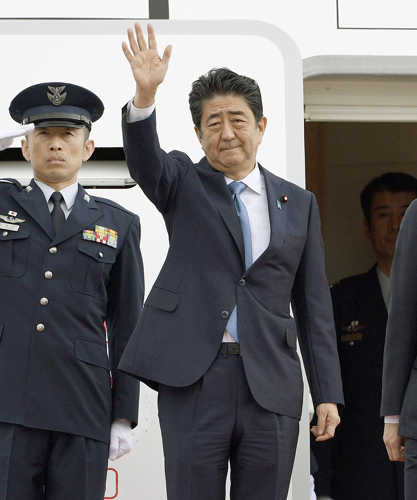 Japan's PM arrives in Tehran for talks on Iran-US frictions