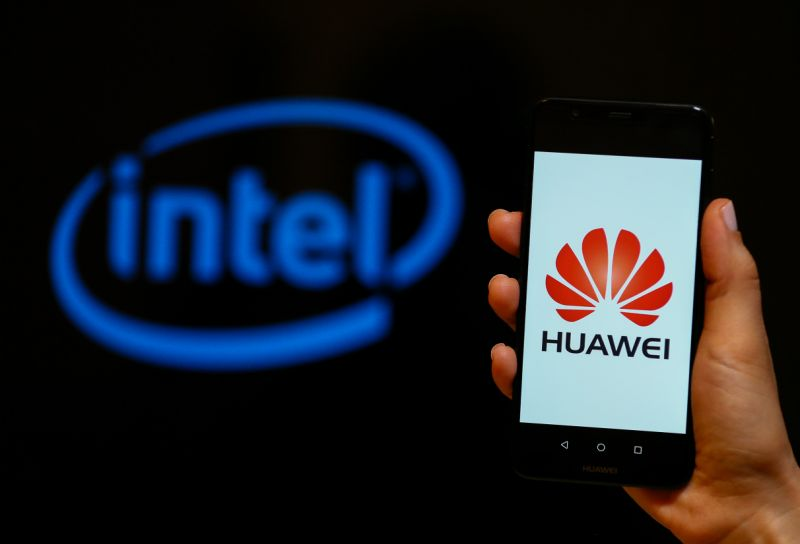 Intel pushing Trump administration to reverse Huawei ban