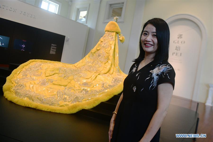 """Exhibition """"Guo Pei: Chinese Art and Couture"""" to be held in Singapore"""