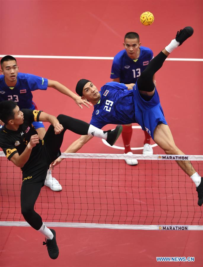 In pics: 2019 Asian Sepaktakraw Championships men's regu final