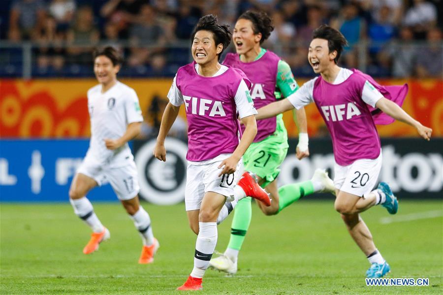 South Korea beats Ecuador to enter U-20 World Cup final