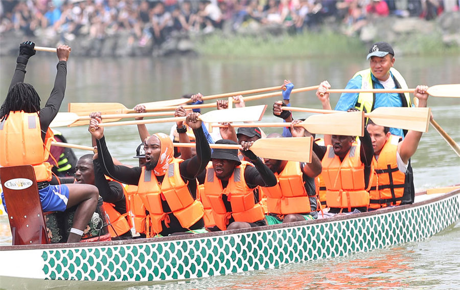 Dragon boat tradition celebrated worldwide
