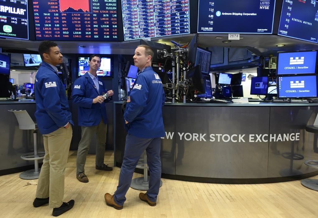 US stocks slide as tech, financial shares lag