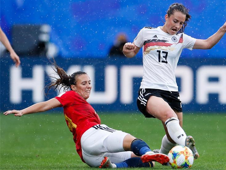 Germany beats Spain 1-0 at 2019 FIFA Women's World Cup