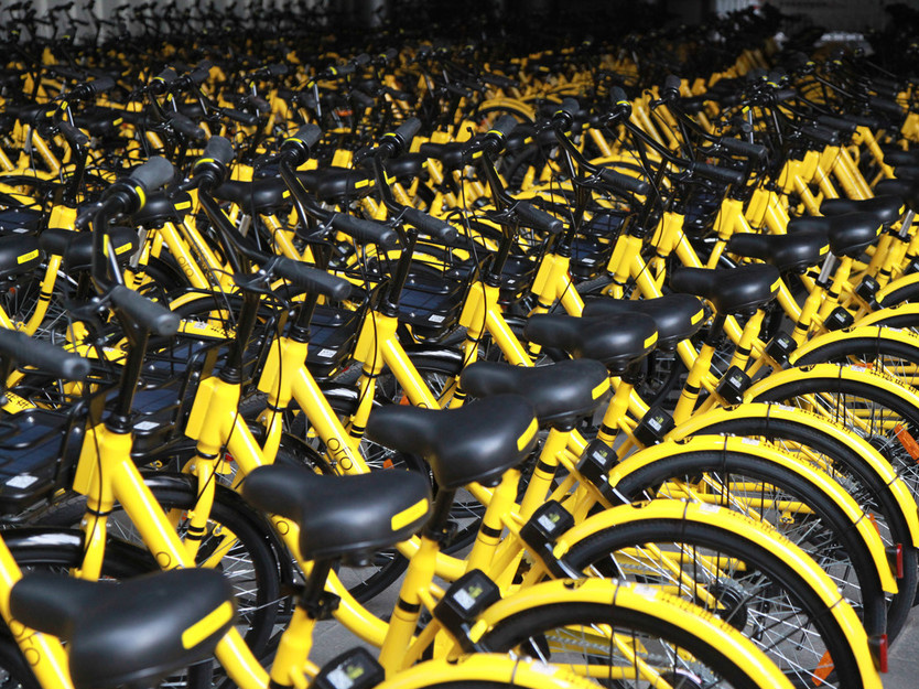 Top executive of Ofo stopped from leaving country