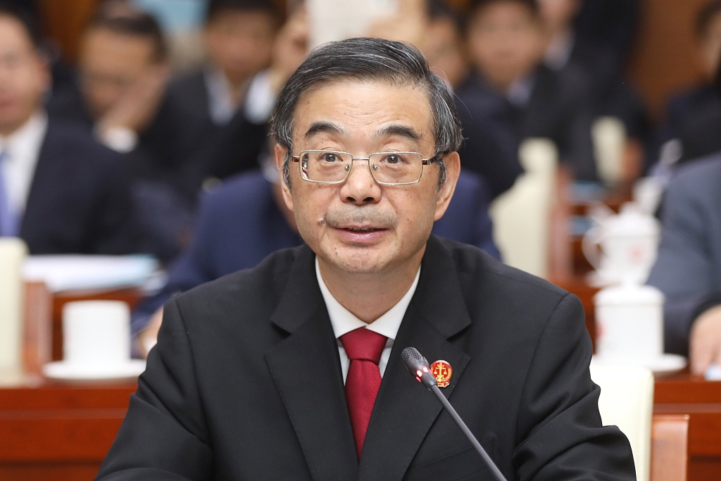 China's chief justice calls for modern litigation service system