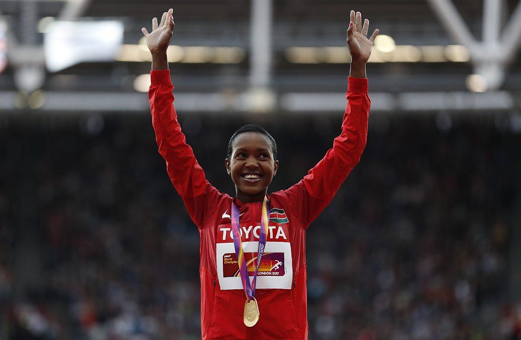 Olympic champion Kipyegon to skip Africa Games, eyes World Championships