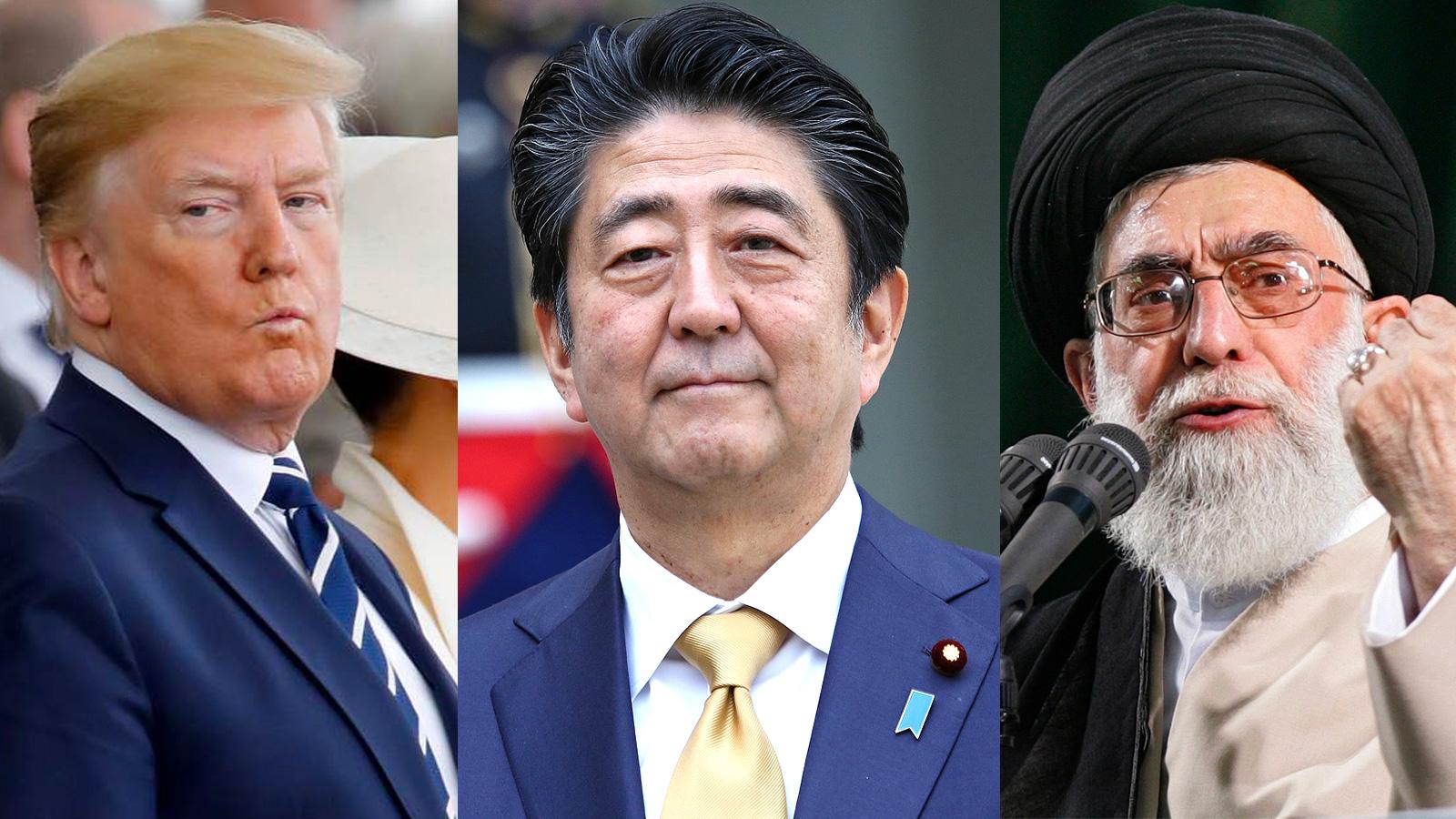 Abe's visit to Iran: Kill 3 birds with 1 stone